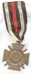 WW II GERMAN CROSS OF HONOR 1914-1918