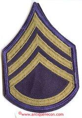 WW II US ARMY STAFF SARGENT RANK STRIPES - COMBAT