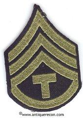 WW II US ARMY TECH 3rd GRADE RANK STRIPES - MINT