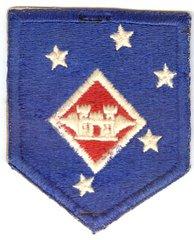 USMC 1st MARINE AMPHIBIOUS COMMAND AVIATION ENGINEER PATCH