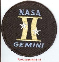 NASA GEMINI PROGRAM PATCH