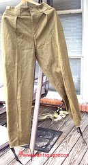 WW II US ARMY SKI TROOPER PANTS - Sz 42 X 31 ***RARE***