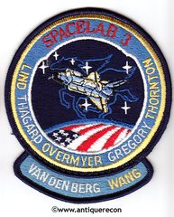 NASA SHUTTLE CHALLENGER SPACELAB 3 MISSION 51-B PATCH