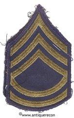 WW II US ARMY TECH SARGENT 2nd GRADE RANK STRIPES