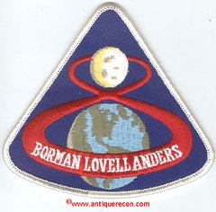 APOLLO 8 SOUVENIR PATCH
