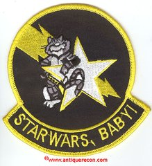 US NAVY VF-33 TOMCAT STARWARS, BABY! PATCH