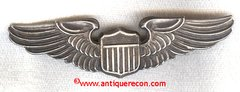 WW II US ARMY PILOT WING - BALFOUR - STERLING