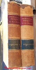 PERSONAL MEMOIRS OF ULYSSES S. GRANT - 1885