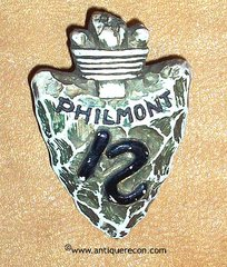 BSA PHILMONT ARROW HEAD SLIDE - 1960's