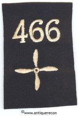 WW I US 466th AERO SQUADRON ENLISTED SLEEVE INSIGNIA