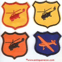 US ARMY AVIATION SCHOOL PATCH SET