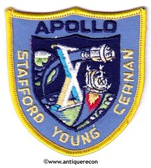 NASA APOLLO X MISSION PATCH - SMALL