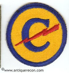 US ARMY EUROPEAN CONSTABULARY PATCH