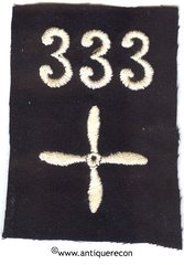 WW I US 333rd AERO SQUADRON ENLISTED SLEEVE INSIGNIA