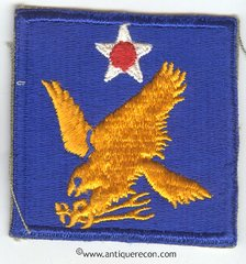 WW II US ARMY 2nd AIR FORCES PATCH