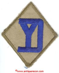 US ARMY 26th INFANTRY DIVISION PATCH