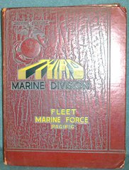 KOREA ERA THIRD MARINE DIVISION FLEET MARINE FORCE PACIFIC YEAR BOOK