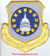 USAF HEADQUARTERS COMMAND PATCH