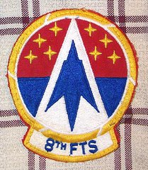 USAF 8th FLYER TRAINING SQUADRON PATCH