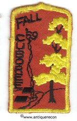 BSA FALL CUBOREE 1969 PATCH