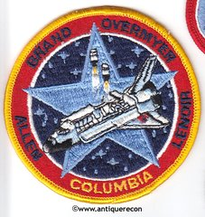 NASA SHUTTLE COLUMBIA STS-5 MISSION PATCH