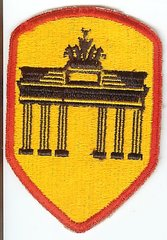 US ARMY BERLIN DISTRICT PATCH