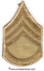 WW II US ARMY STAFF SARGENT RANK STRIPES