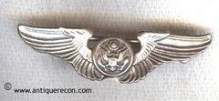 WW II US AAC AIR CREW WING SWEETHEART PIN - CORO - HOME FRONT
