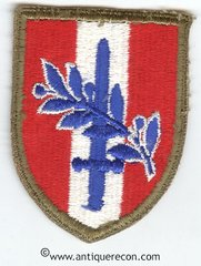 US ARMY AUSTRIAN OCCUPATION FORCES PATCH