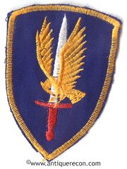 VIETNAM US 1st AVIATION BRIGADE PATCH - THEATER MADE