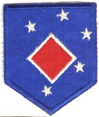 WW II USMC 1st MARINE AMPHIBIOUS COMMAND HEADQUARTERS PATCH