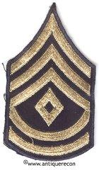 WW II US ARMY 1st SARGENT 2nd GRADE RANK STRIPES