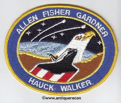 NASA SHUTTLE MISSION 51-A PATCH
