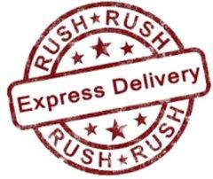 ** RUSH MY ORDER !!!