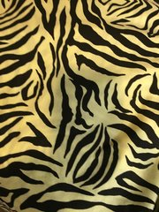 Yellow Zebra - cotton