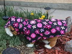 Flowers Raincoat -- two sizes available
