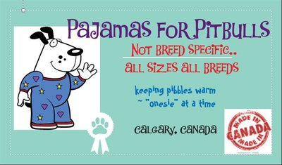 Pajamas for Pitbulls