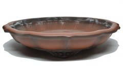 Japanese Hokido Glazed pot 12 1/2""