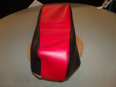 Baja Dirt Bug DB30 Mini Bike Seat Upholstery Red and Black