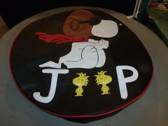 Snoopy Barron Woodstock Jeep Tire Cover