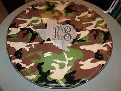 Monogram Spare Tire Cover Jungle Camo Big Texas