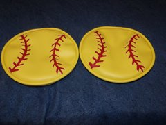 Off Road Light Covers Yellow Softball