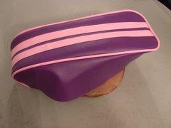 Coleman CT200U Mini Bike Seat Upholstery Purple And Pink 2 Stripe