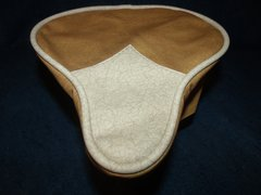 Beach Cruiser Seat Upholstery Antique Beige And Caramel
