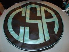 Monogram Spare Tire Cover CBL CSA