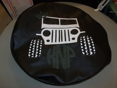 Monogram Spare Tire Cover Jeep Queen KNP