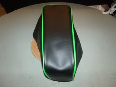 Coleman CT200U Mini Bike Seat Upholstery Black With Lime Green Trim
