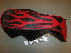 Motovox MBX10 Black With Flames