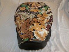 Baja Warrior heat Mini Bike Seat Upholstery Camo Brown with Black Sides