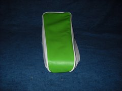 Mini Bike Seat Upholstery Lime Green With White Sides